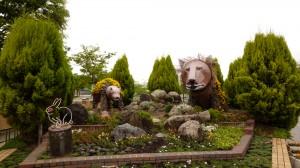 天王寺公園はしょうもないオブジェでいっぱい……